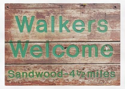 Walkers Welcome Sandwood