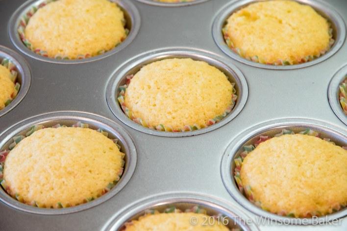 Coconut Cupcakes -7