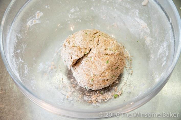 Cumin + Herb Flat Breads -4