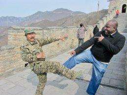 Walking the Great Wall of China
