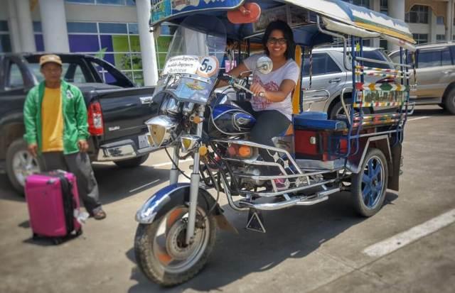 Tuktuk at Laos