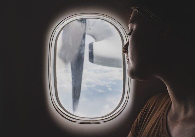 sleep in airplane