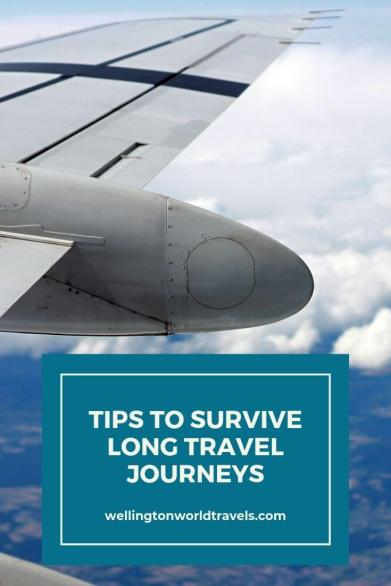 5 Tips to Help You Survive Long Travel Journeys - Wellington World travels | long haul flights | long travel #traveltips