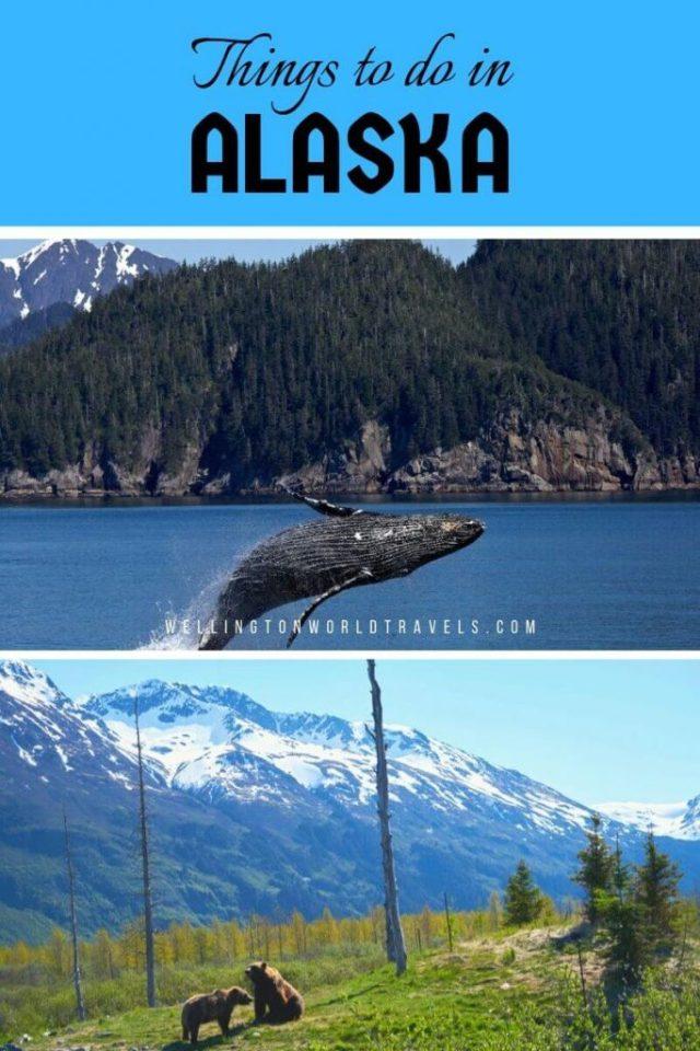Top Things to Do in Alaska [Alaska Bucket List] - Wellington World Travels   Alaska bucket list   Alaska Travel guide   Alaska Tourism