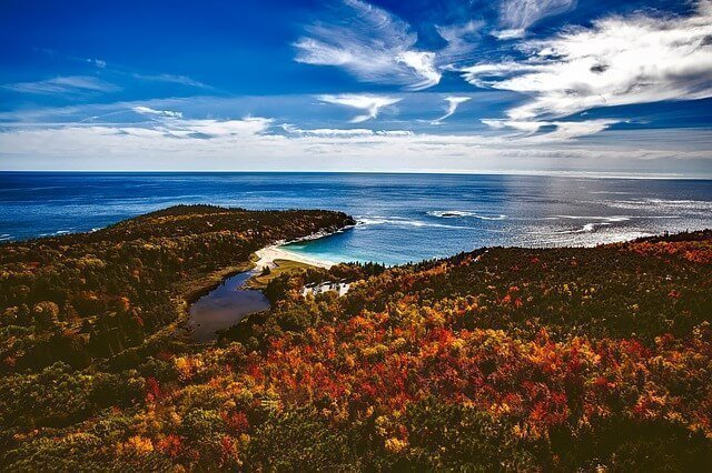 Bar Harbor in Maine