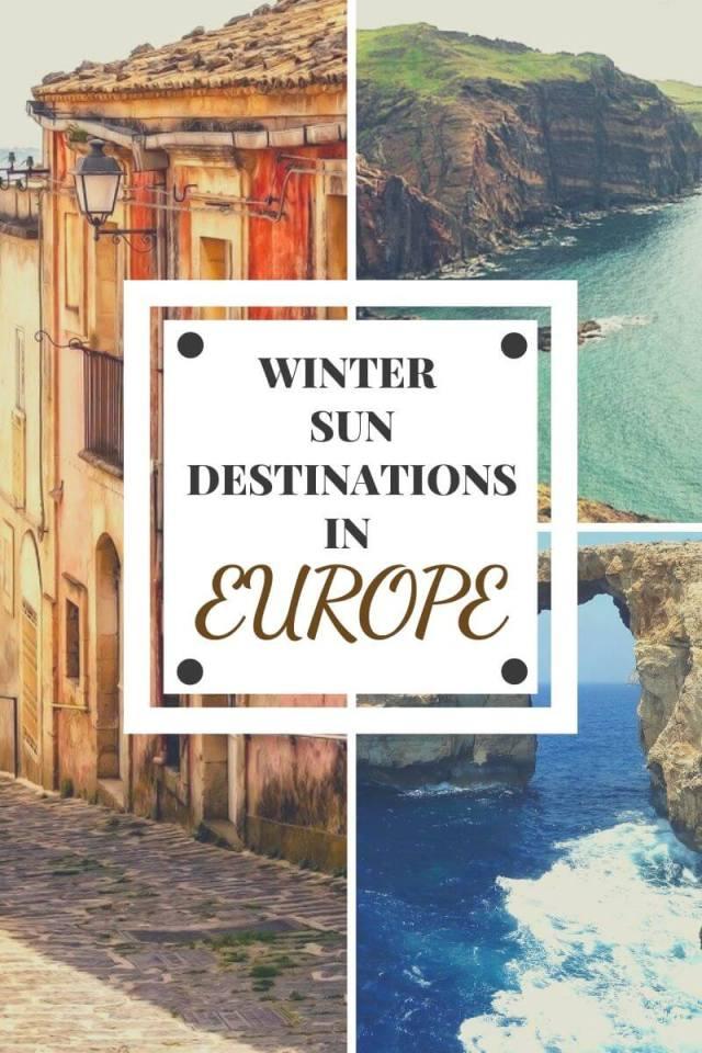 Best Winter Sun Destinations in Europe - Wellington World Travels