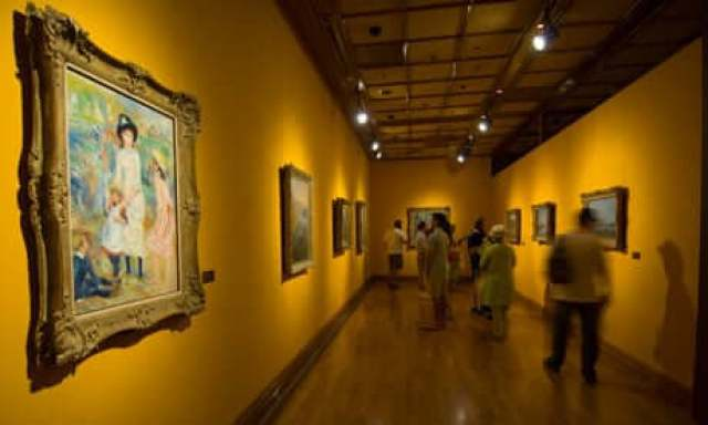 Museums and art galleries