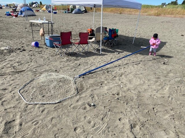 dipnetting camping