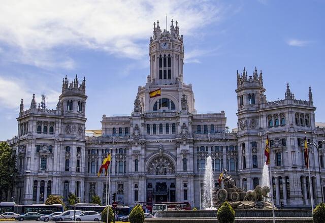 Palacio de Cibeles, Town Hall, Madrid