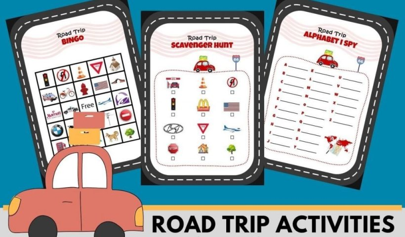 Road Trip Activities for Kids - Wellington World Travels
