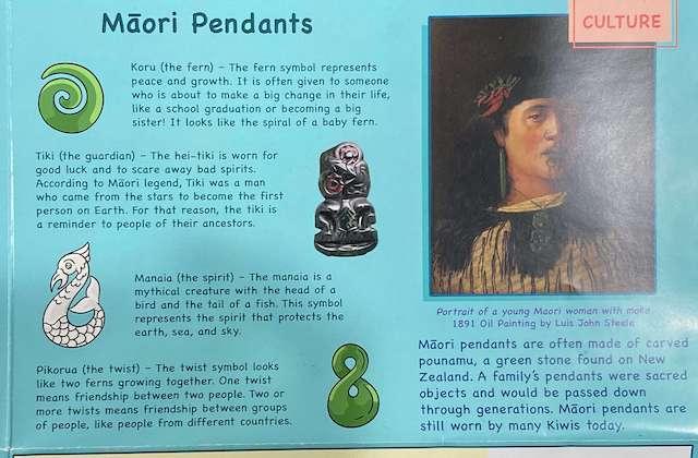 Maori pendants - New Zealand with Womple Studios