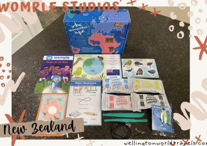 Learn about New Zealand with Womple Studios - Wellington World Travels #subscriptionbox #homeschool