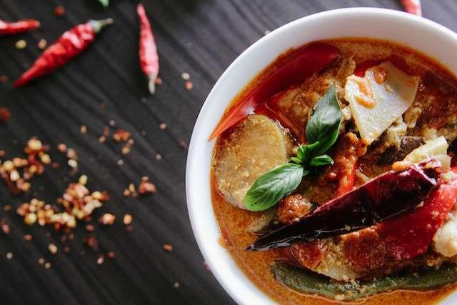 Thai cuisine - curry