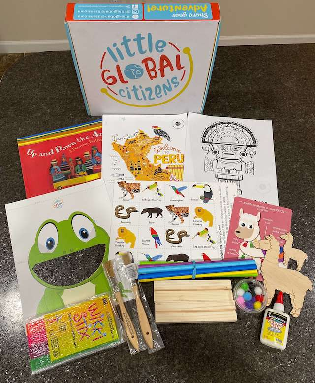Peru - Little Global Citizens (subscription box)