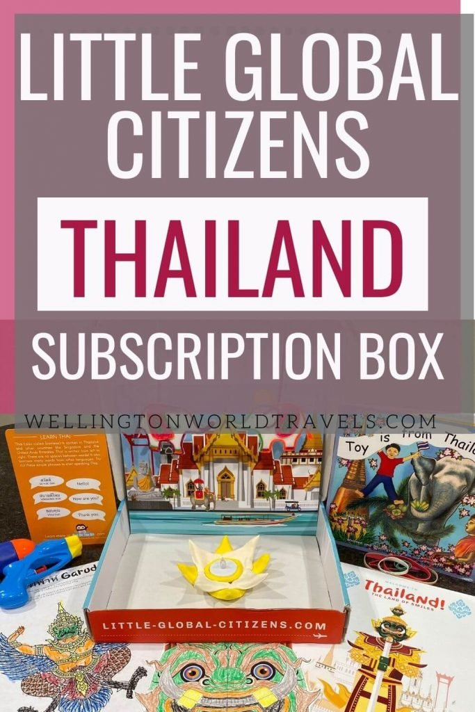 Learn about Thailand with Little Global Citizens - Wellington World Travels