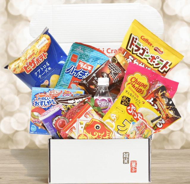 Okashi Crate subscription box
