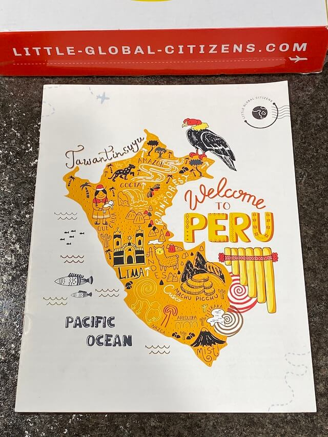 Adventure Guide - Peru with Little Global Citizens