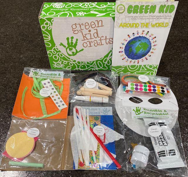 Around the World - Green Kid Crafts
