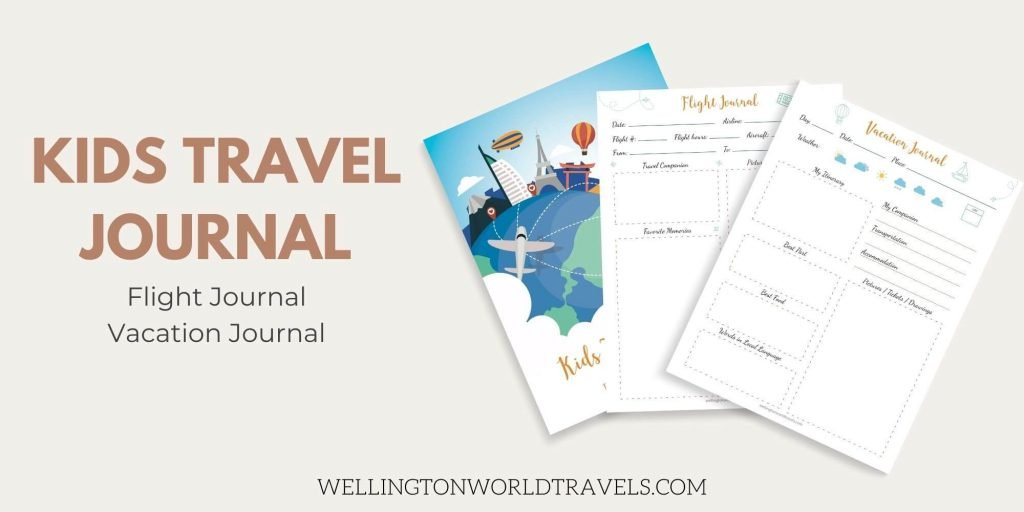 Kids Travel Journal - Wellington World Travels