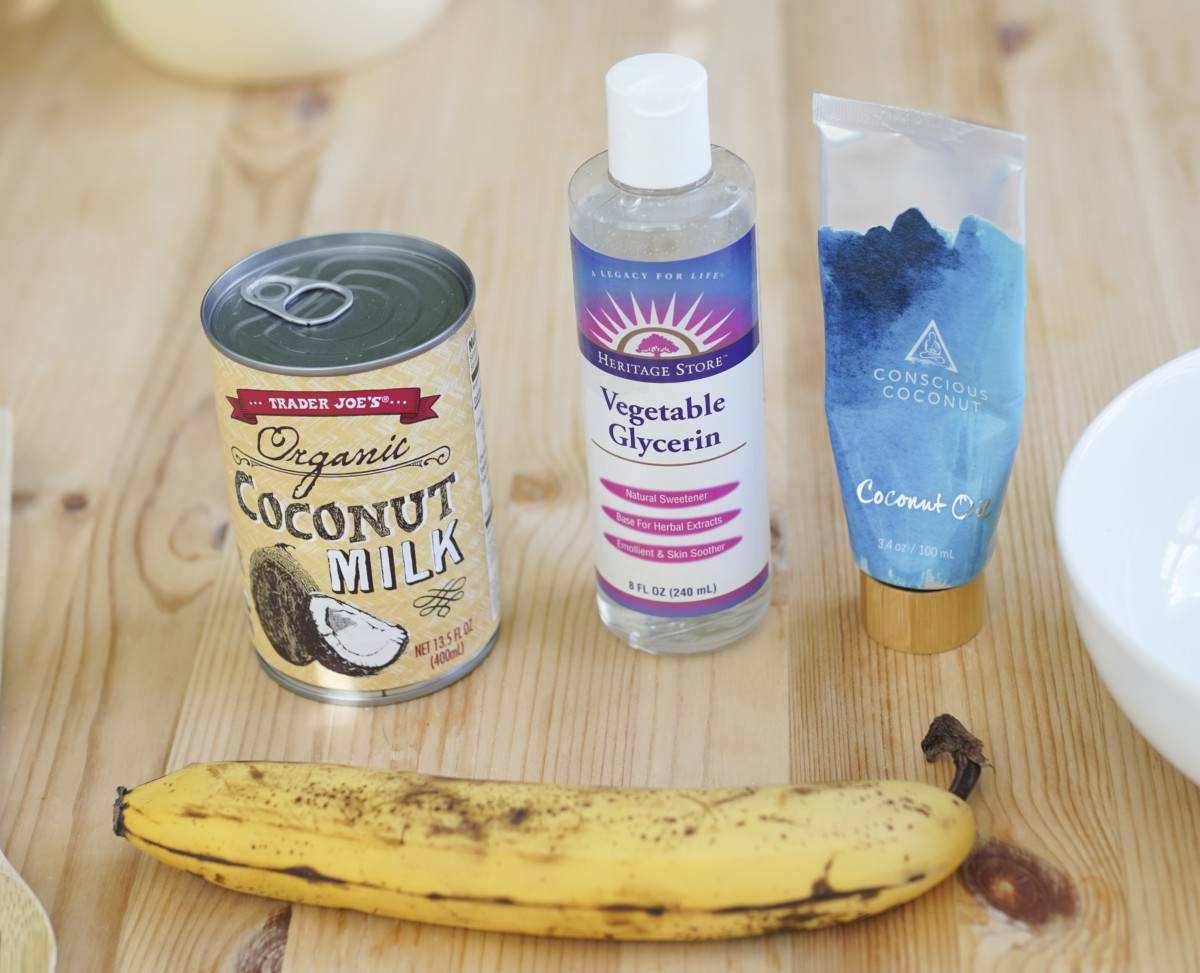 DIY Beauty: Try This Coconut-Banana Hair Mask For Coarse Hair