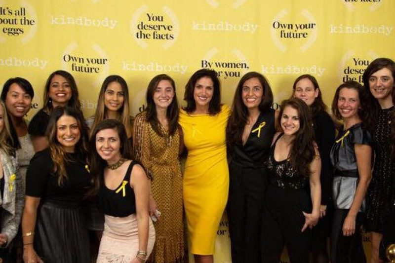 Gina Bartasi (center) with the Kindbody team. Photo courtesy of Kindbody.