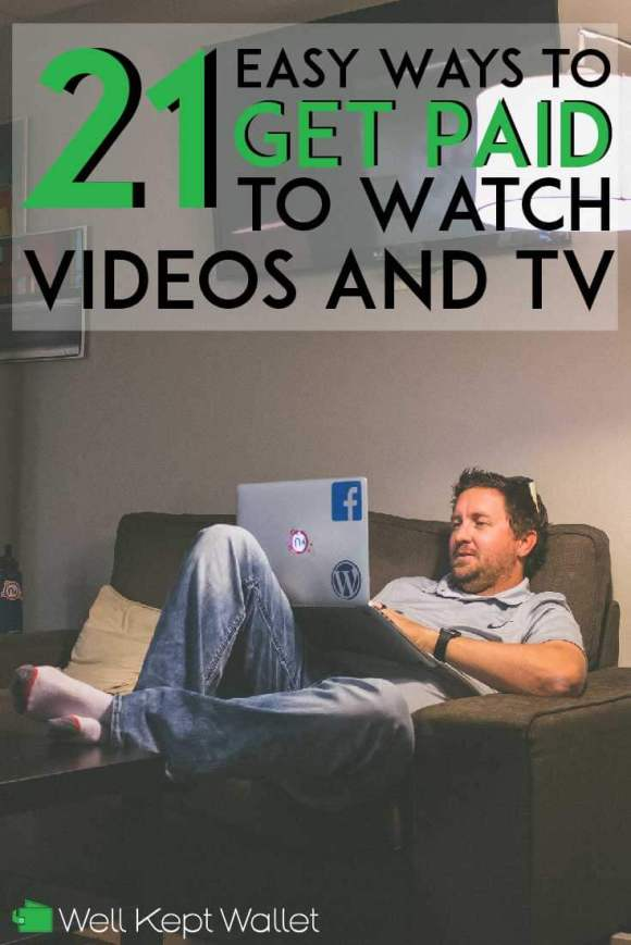 21 Easy Ways to Get Paid to Watch Videos (and TV)