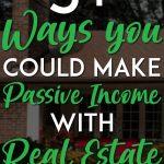 Real Estate Passive Income pinterest pin