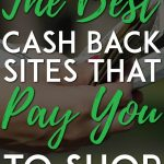 The best cash back sites that pay you to shop pinterest pin