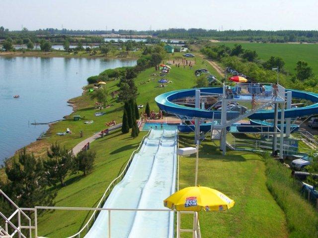 Jezero Rukel i aqua park, Dunavaršanj