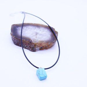 Veterketting Raw Stone Turquoise