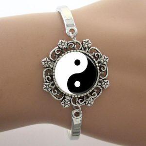 Bangle Armband Vintage Yin Yang
