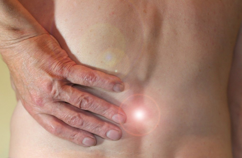 Rücken Nacken Schulter Massage