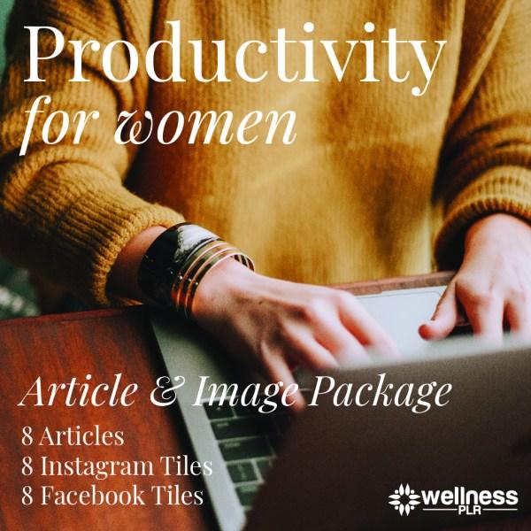 Productivity for Women PLR