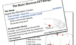 Basic EFT Cue Card