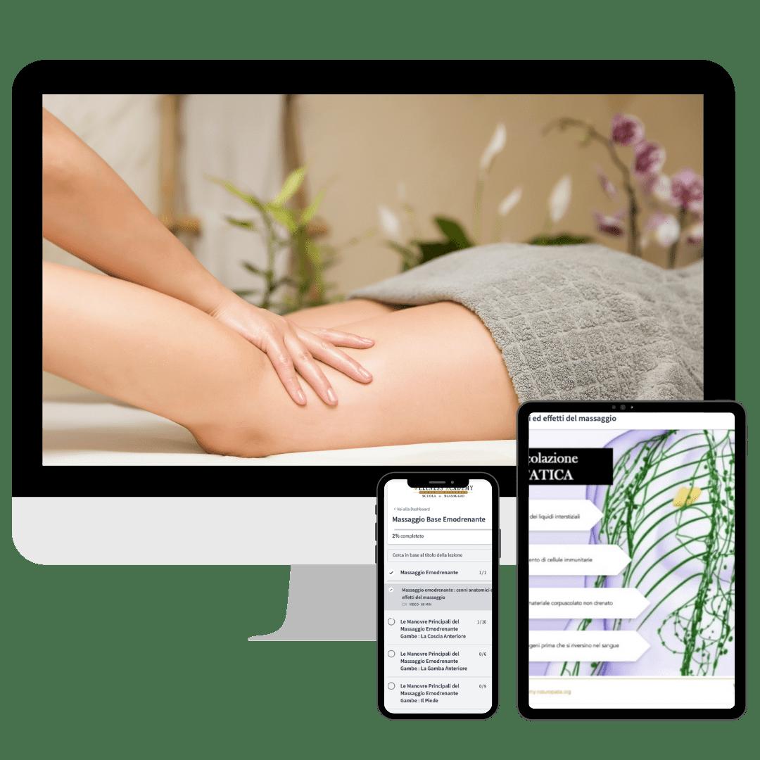 corsi online di massaggio