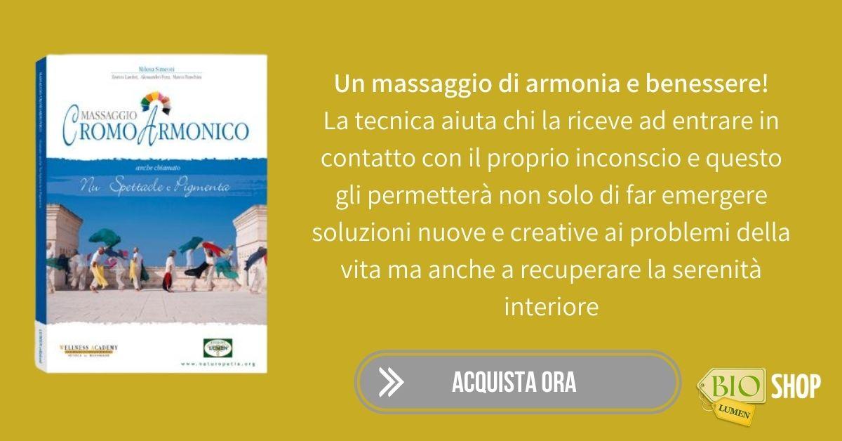 Libro Massaggio Cromoarmonico