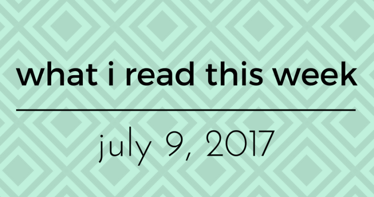 WIRTW Roundup – July 7, 2017!