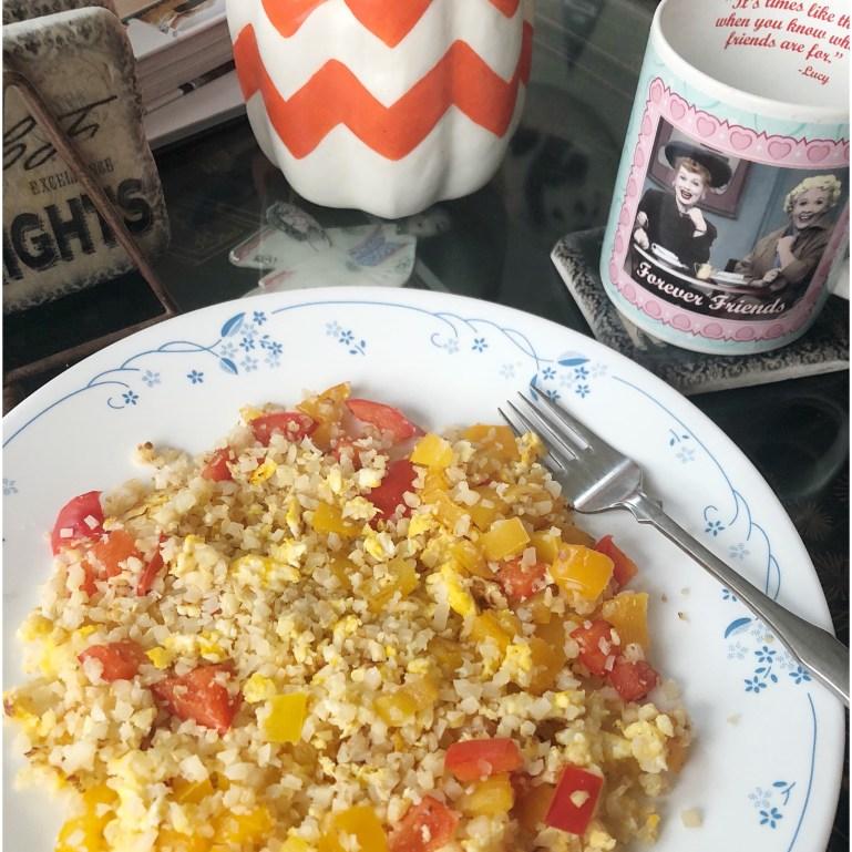 Whole30 Cauliflower Fried Rice | WellnessAndWanderlust.net