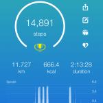 カロリー、歩数、食事の記録に便利なアプリの紹介