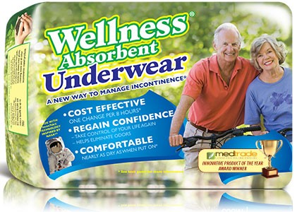 Absorbent Underwear to Fight Incontinence