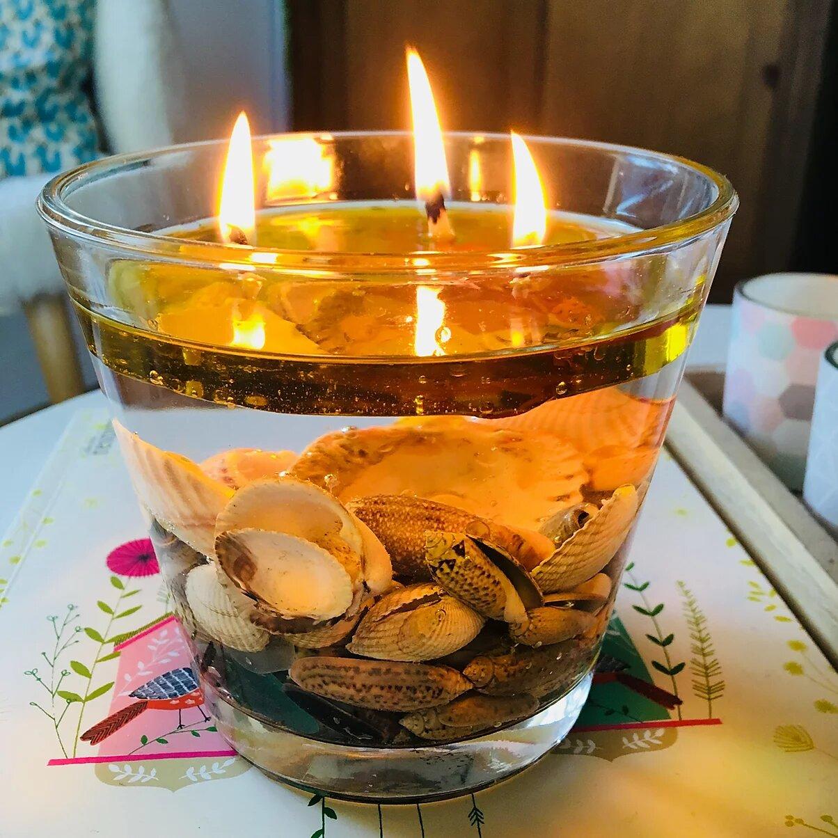 Lampe Végétale et bougie pour la vie