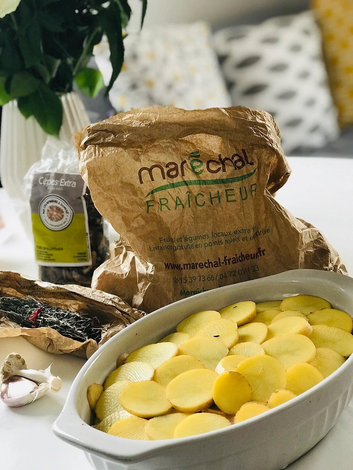Recette Gratin de Pomme de Terre Vegan et Végétal