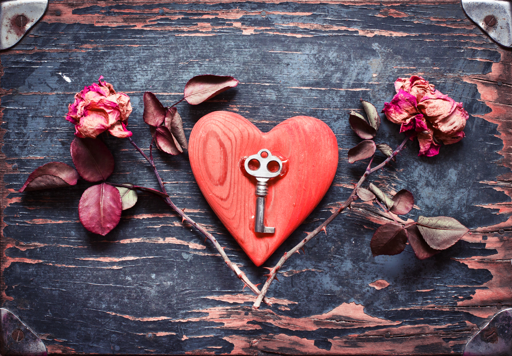 Love Heart Key