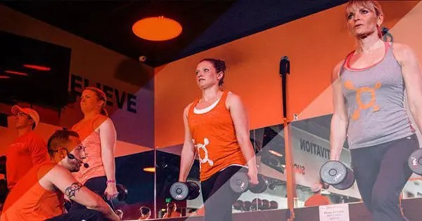 blog picture of orange theory fitness workout