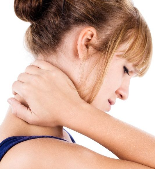 waking up neck pain woman el paso tx