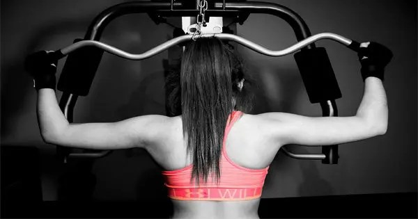 blog picture of lady working out on machine
