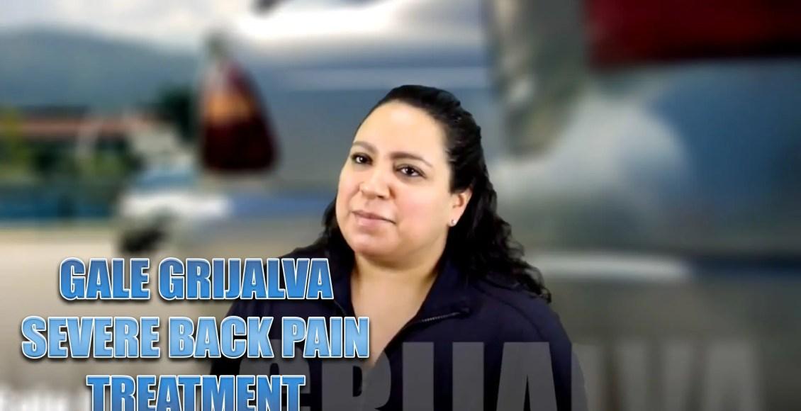 severe back pain chiropractic treatment el paso tx.