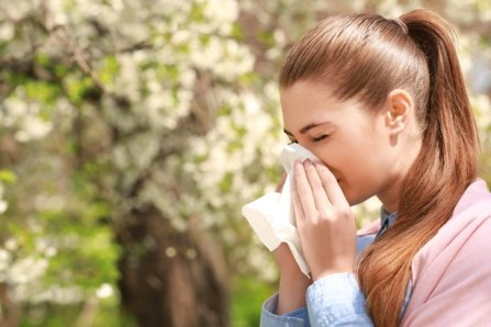 Person with Allergies