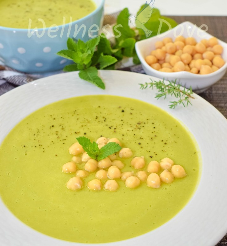 Quick & Satiating ChickPea Soup | Plant-Based