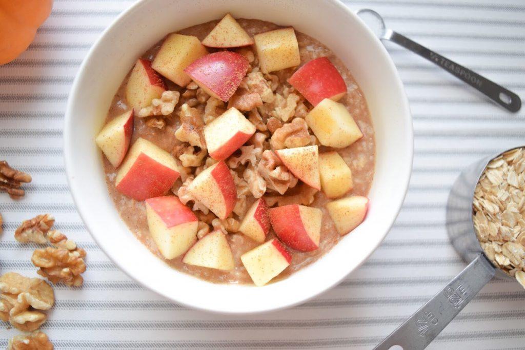 maple apple & walnut oatmeal